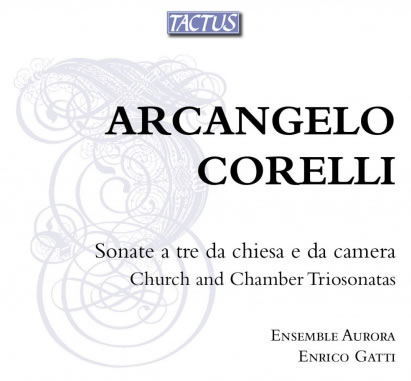 18-Corelli sonate da chiesa e camera op.1-2-3-4 TACTUS TB 650390
